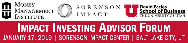 Impact Investing Advisor Forum